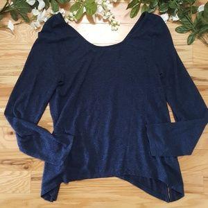 Anthropologie Akemi + Kin Dark Blue Sweater